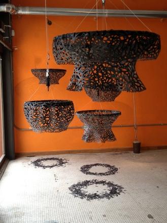 """Alysia Fischer """"Suspended Resources"""" - Installation View 2"""